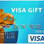 visa gift card collage